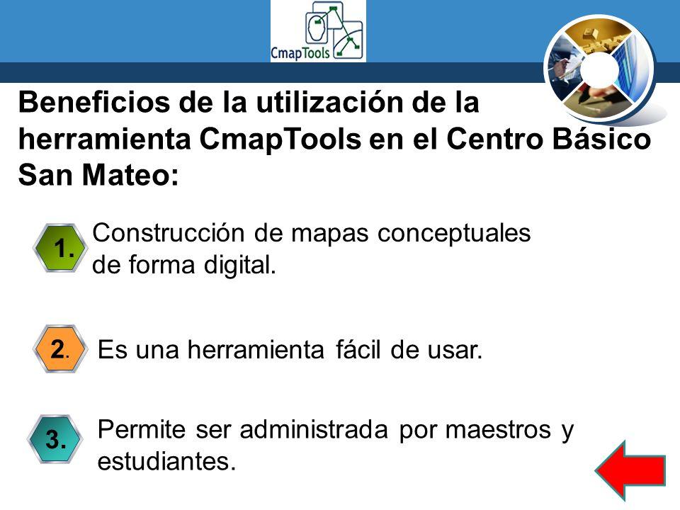 Beneficios de la utilización de la herramienta CmapTools en el Centro Básico San Mateo: