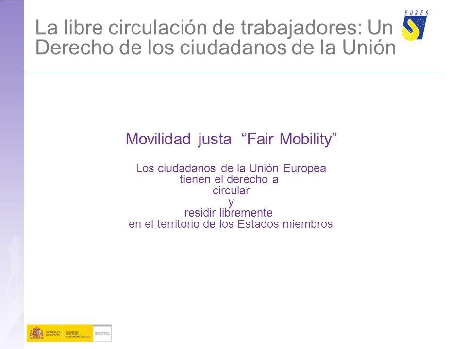 La libre circulación de trabajadores: Un Derecho de los ciudadanos de la Unión