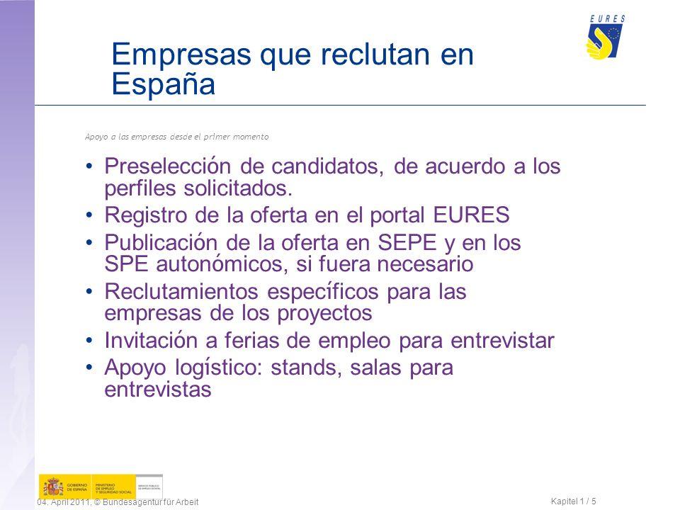 Empresas que reclutan en España