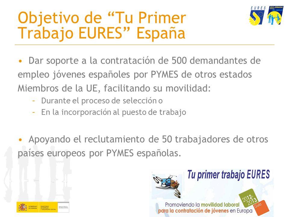 Objetivo de Tu Primer Trabajo EURES España