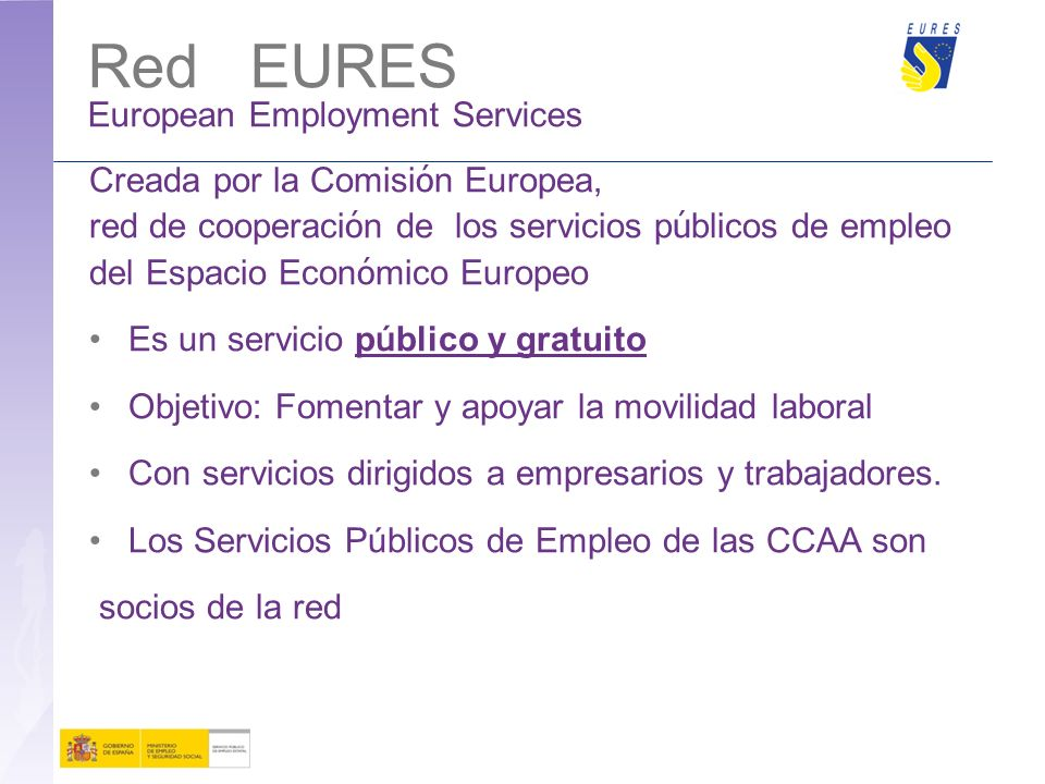 Red EURES European Employment Services