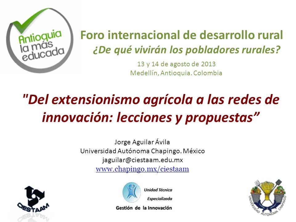 Foro internacional de desarrollo rural