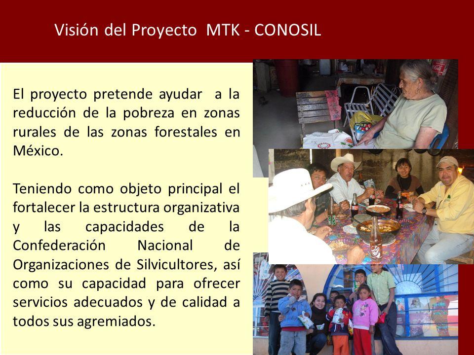 Visión del Proyecto MTK - CONOSIL