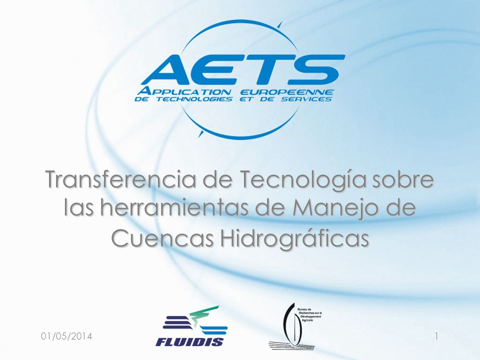 29/03/2017 Transferencia de Tecnología sobre las herramientas de Manejo de Cuencas Hidrográficas.