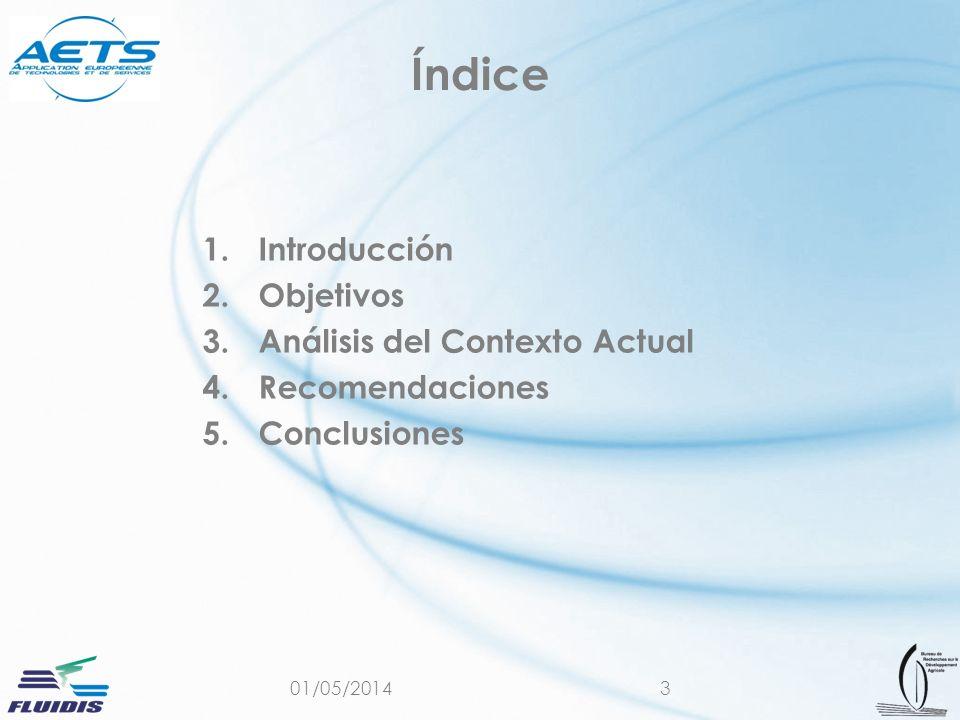 Índice Introducción Objetivos Análisis del Contexto Actual