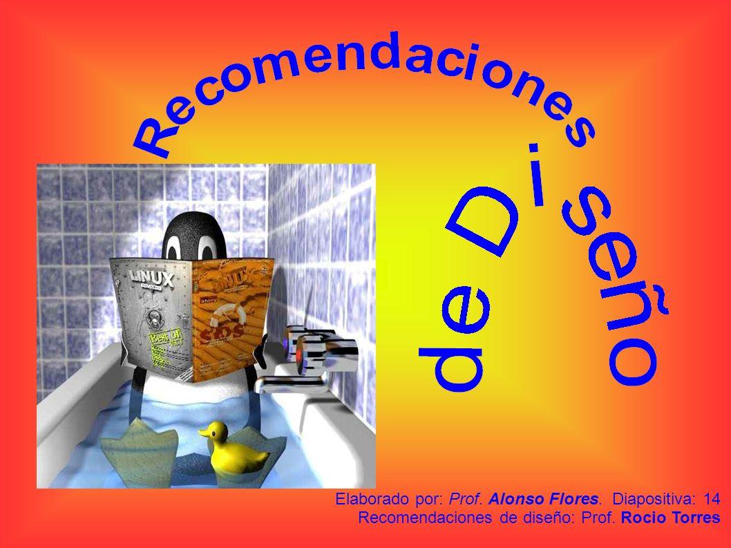 Elaborado por: Prof. Alonso Flores
