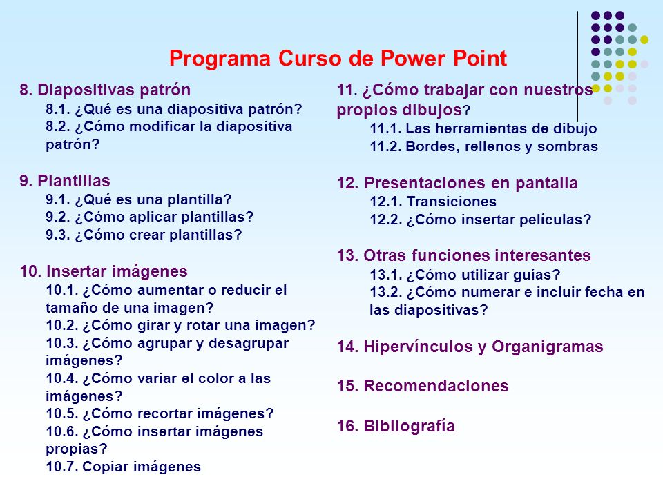 Programa Curso de Power Point