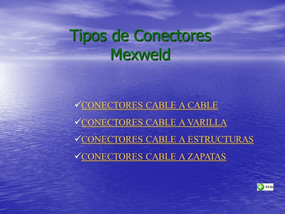Tipos de Conectores Mexweld