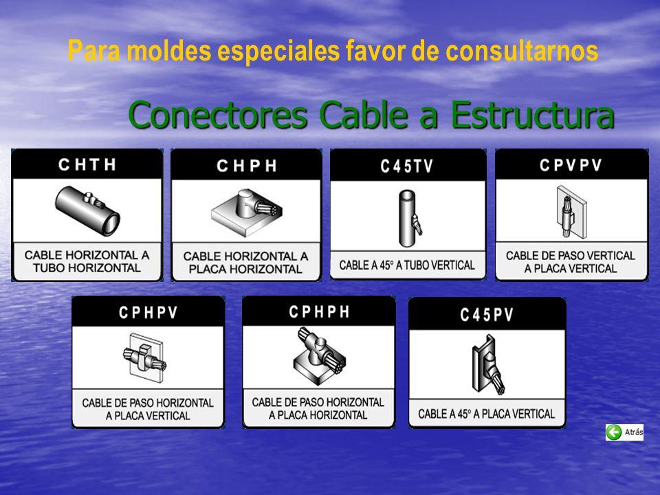 Conectores Cable a Estructura