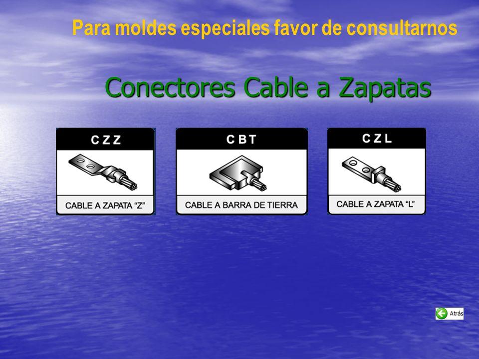 Conectores Cable a Zapatas