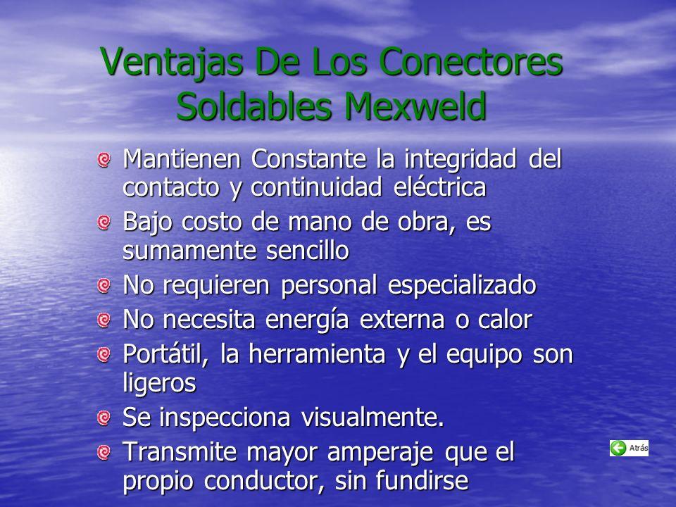 Ventajas De Los Conectores Soldables Mexweld