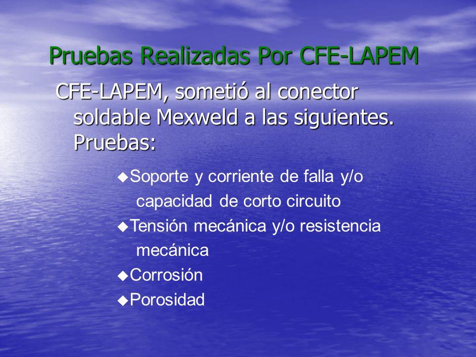 Pruebas Realizadas Por CFE-LAPEM