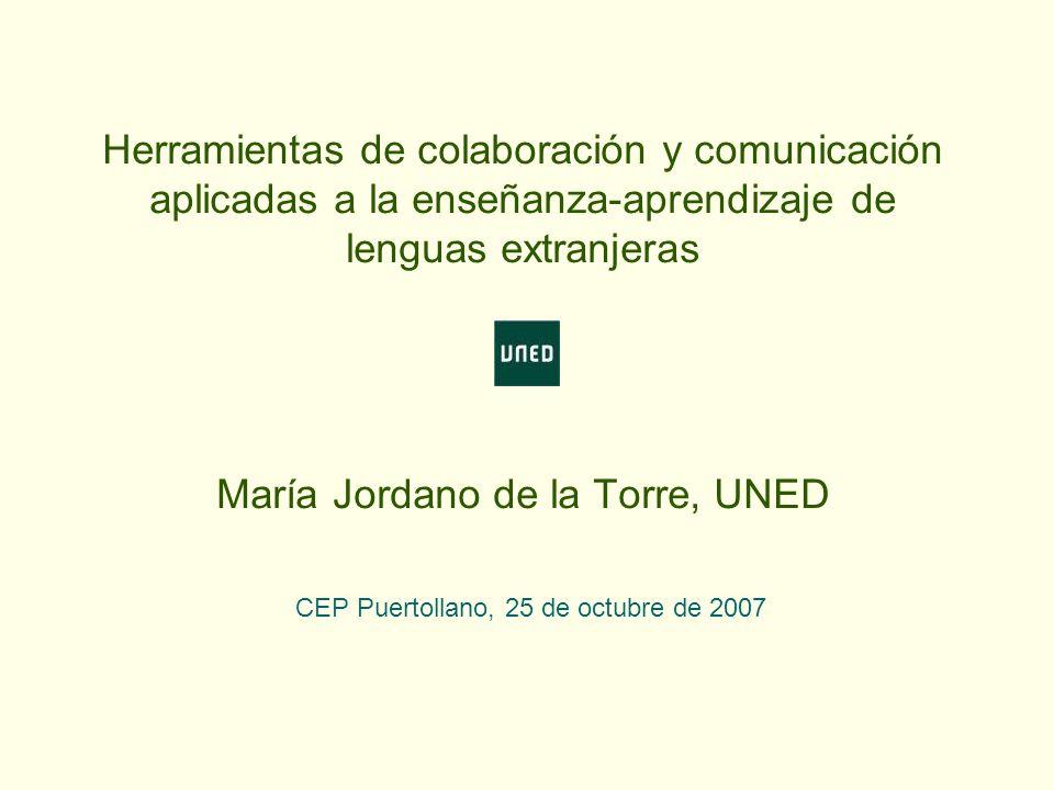 CEP Puertollano, 25 de octubre de 2007