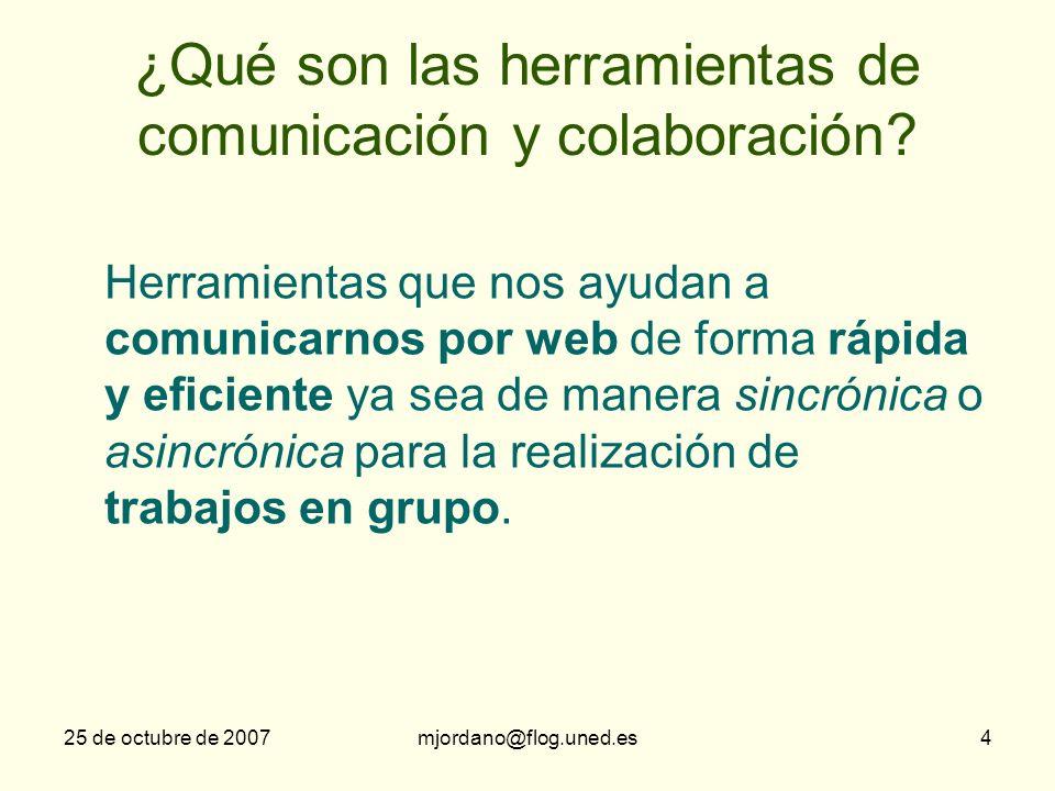 ¿Qué son las herramientas de comunicación y colaboración