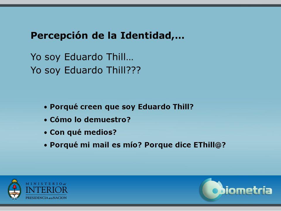 Percepción de la Identidad,…
