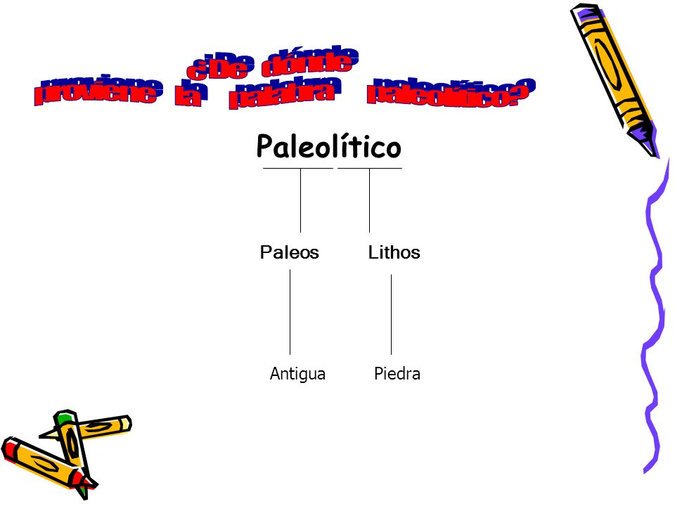 proviene la palabra paleolítico