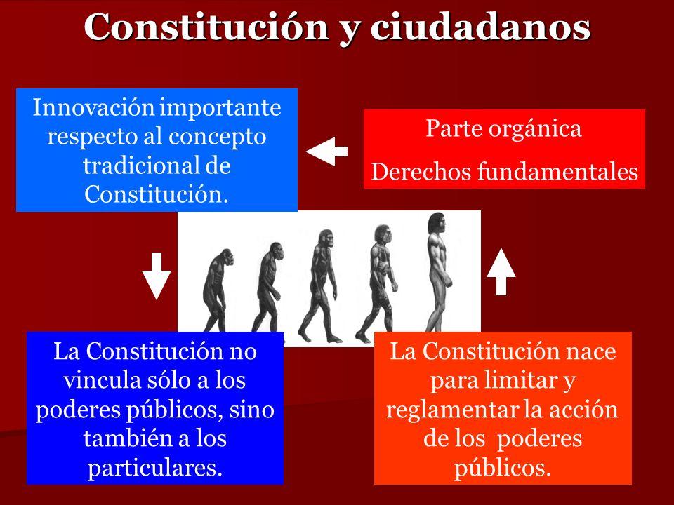 Constitución y ciudadanos