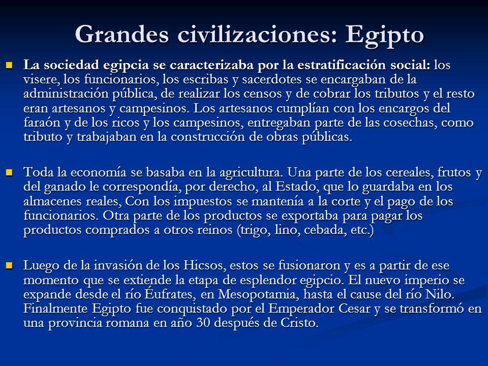 Grandes civilizaciones: Egipto