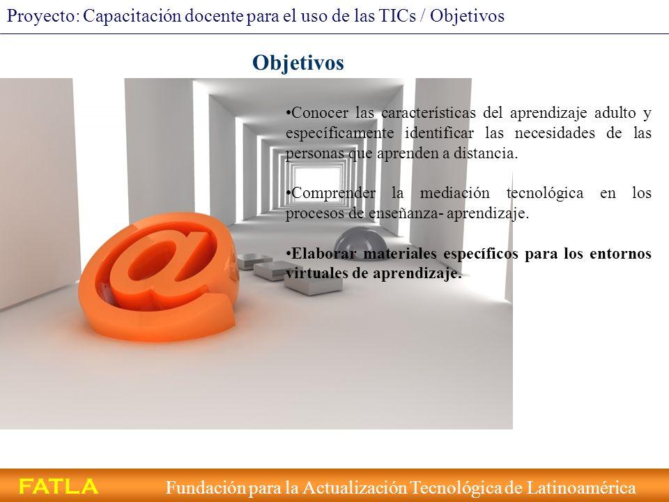 FATLA Fundación para la Actualización Tecnológica de Latinoamérica