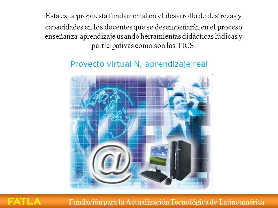 Proyecto virtual N, aprendizaje real