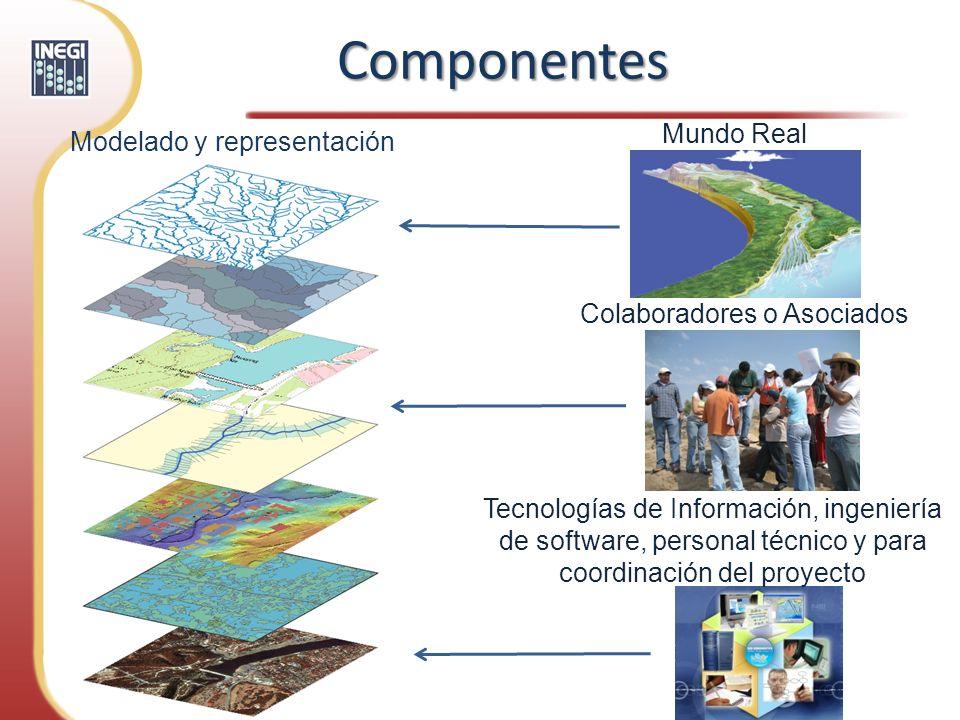 Componentes Mundo Real Modelado y representación