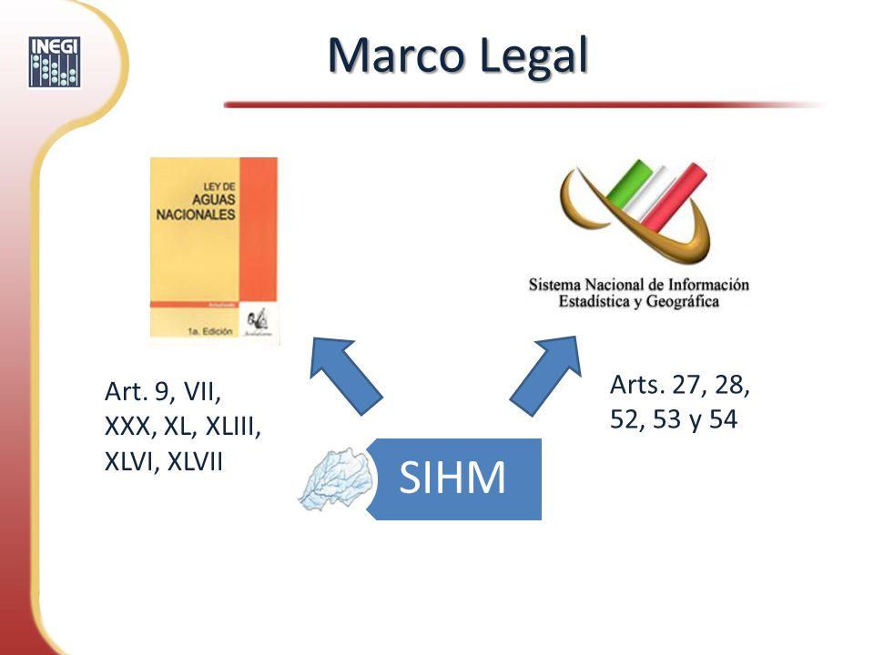 Marco LegalArts. 27, 28, 52, 53 y 54. Art. 9, VII, XXX, XL, XLIII, XLVI, XLVII.