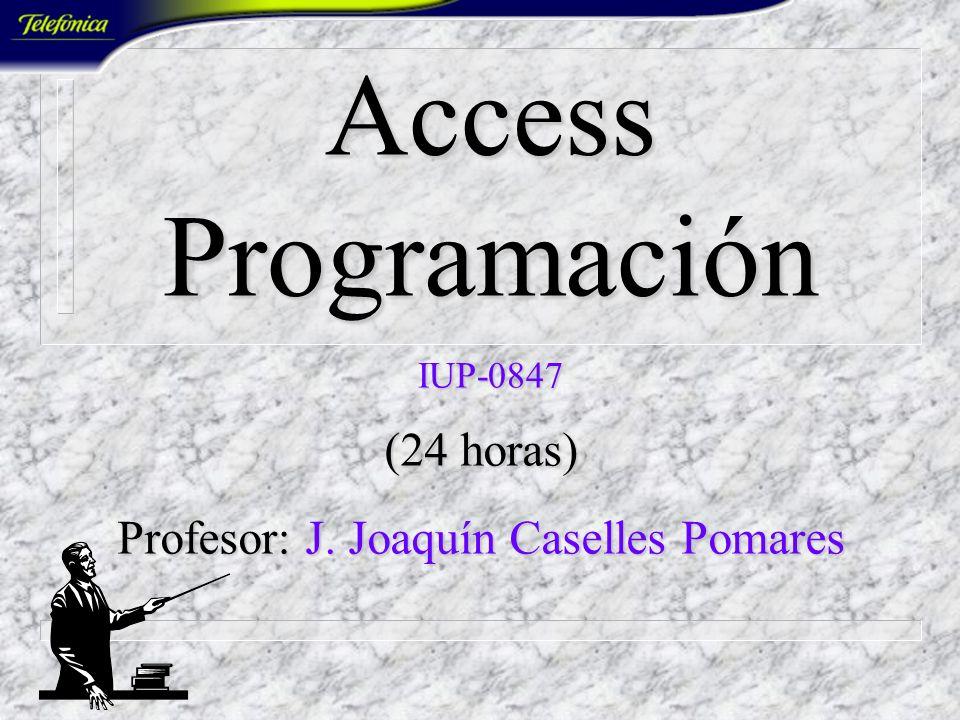 Access Programación IUP-0847