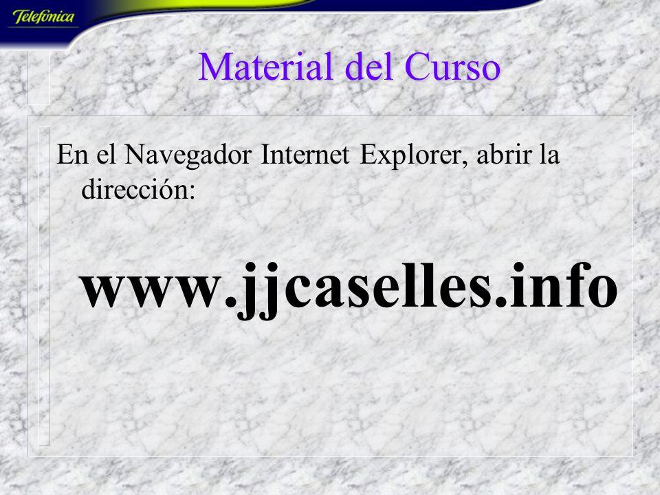 www.jjcaselles.info Material del Curso