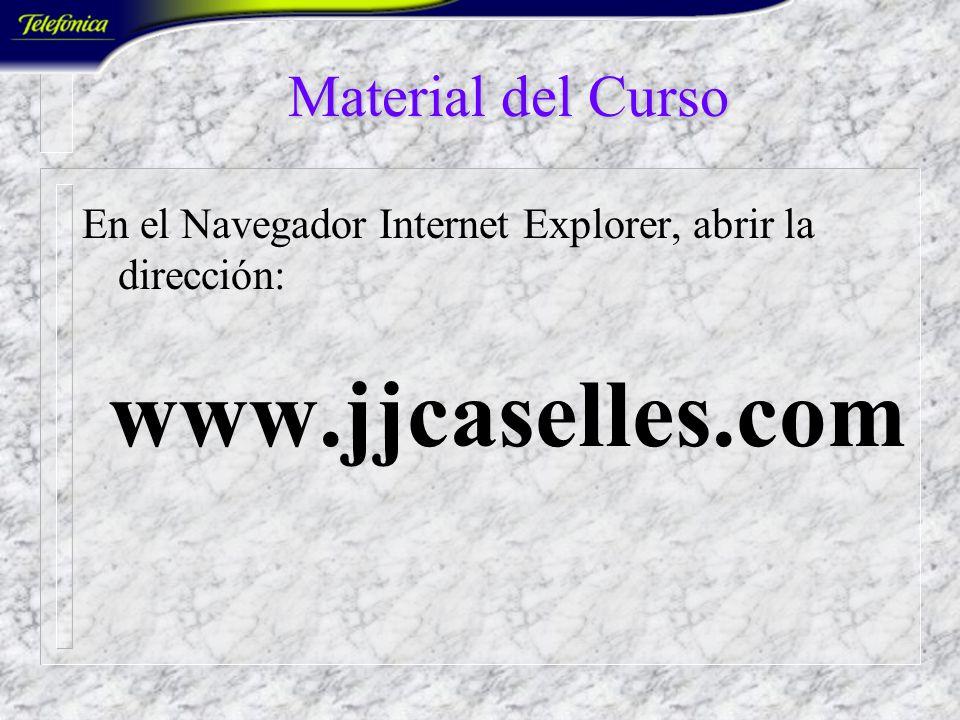 www.jjcaselles.com Material del Curso