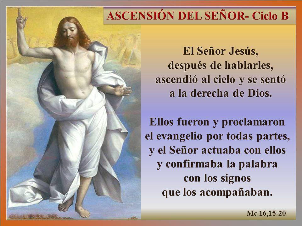 ASCENSIÓN DEL SEÑOR- Ciclo B