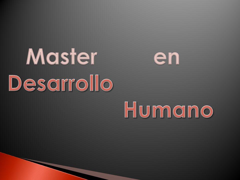 Master en Desarrollo Humano