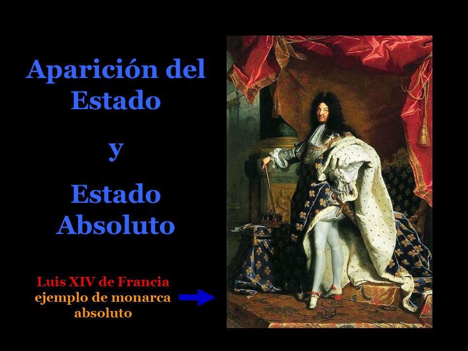 Luis XIV de Francia ejemplo de monarca absoluto