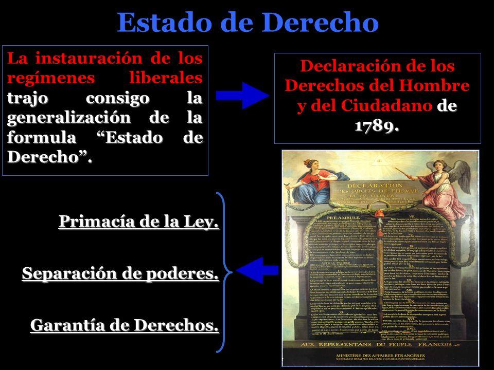 Declaración de los Derechos del Hombre y del Ciudadano de 1789.
