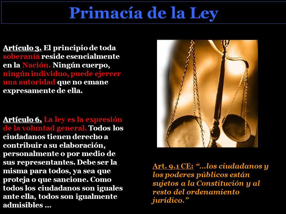 Primacía de la Ley