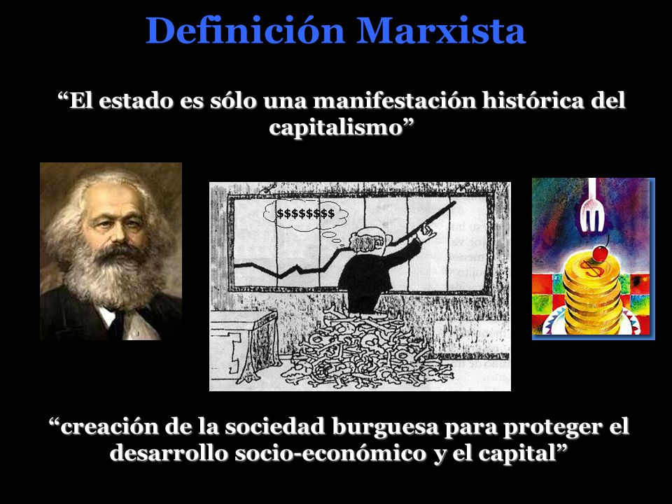 El estado es sólo una manifestación histórica del capitalismo