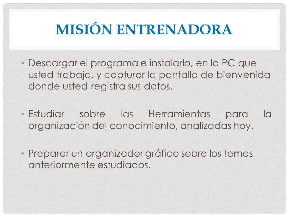 Misión entrenadora
