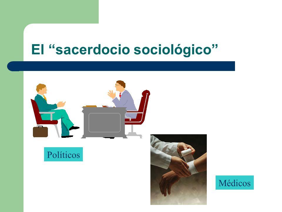 El sacerdocio sociológico