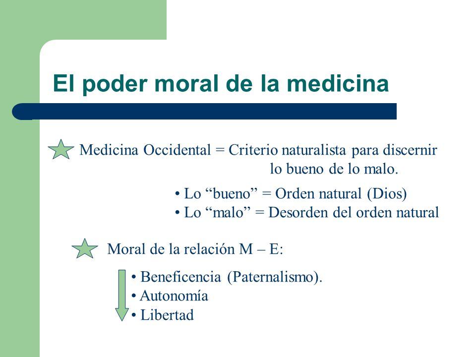 El poder moral de la medicina