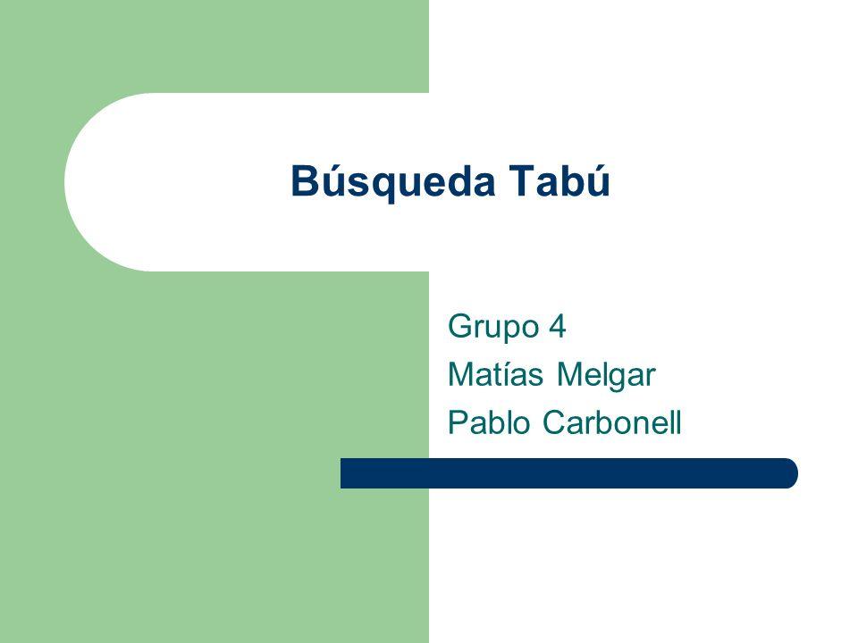 Grupo 4 Matías Melgar Pablo Carbonell