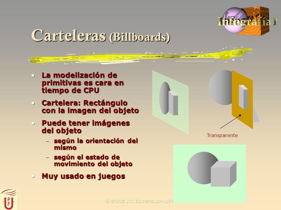 Carteleras (Billboards)