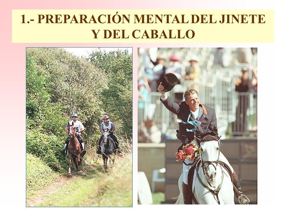 1.- PREPARACIÓN MENTAL DEL JINETE Y DEL CABALLO