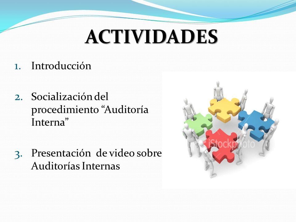 ACTIVIDADES Introducción