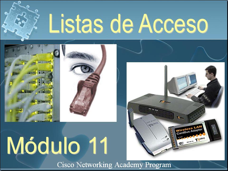 Listas de Acceso Módulo 11
