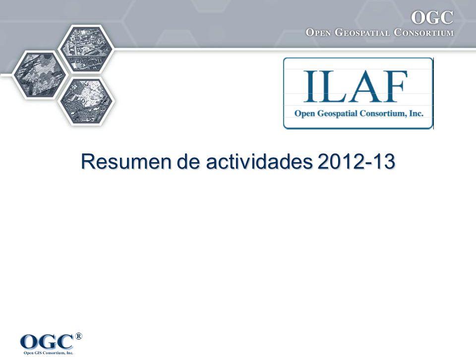 Resumen de actividades 2012-13