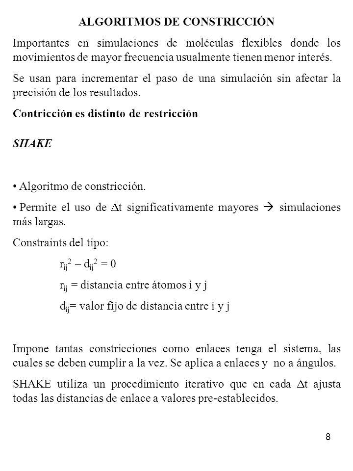 ALGORITMOS DE CONSTRICCIÓN