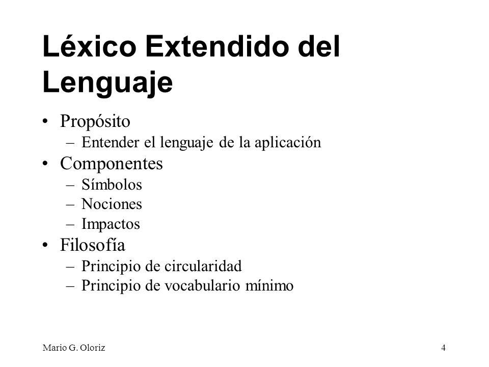 Léxico Extendido del Lenguaje