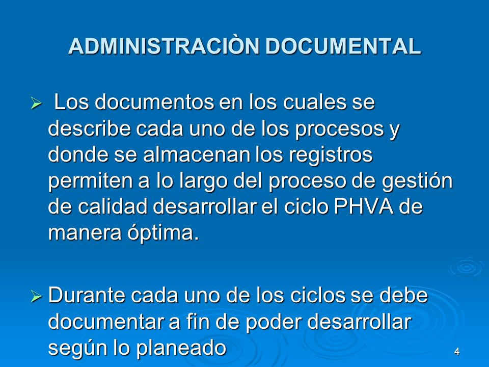 ADMINISTRACIÒN DOCUMENTAL