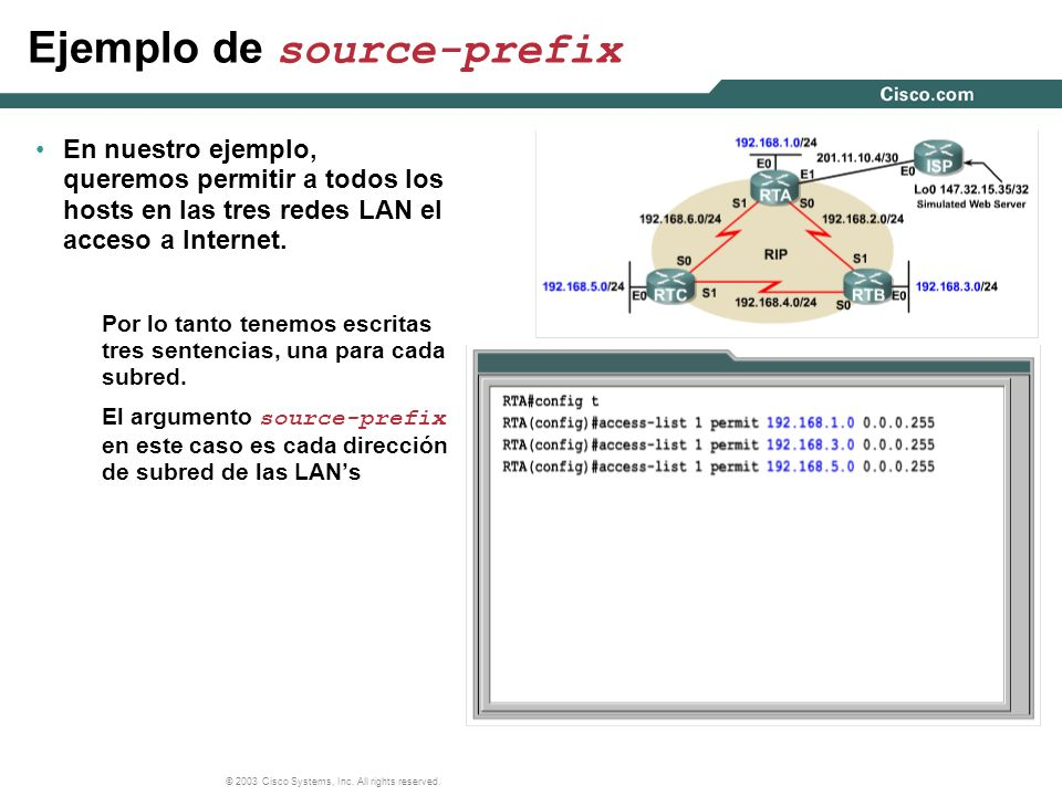 Ejemplo de source-prefix