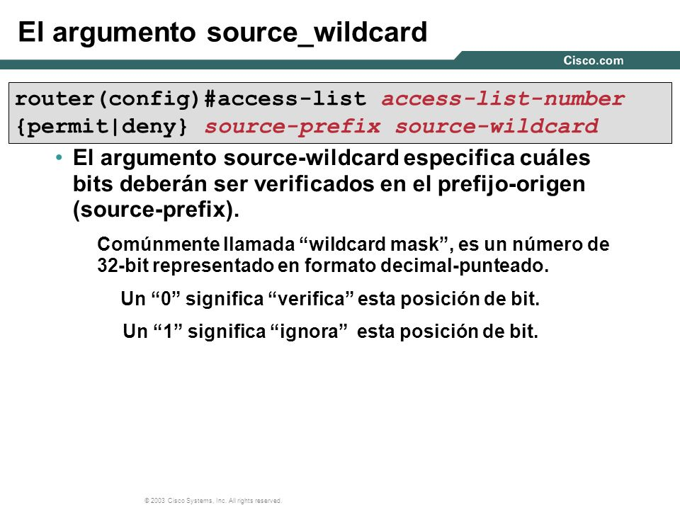 El argumento source_wildcard