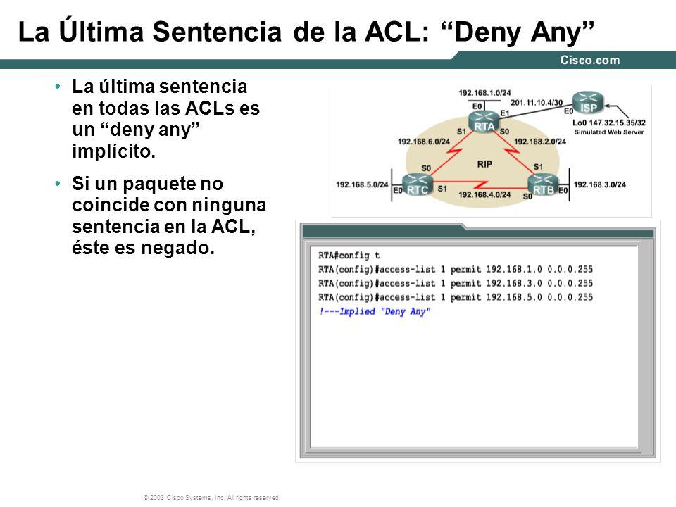 La Última Sentencia de la ACL: Deny Any